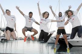 Patricia Bárcena, Sabrina Olmo, Raül Valls, Miguel Rosselló y Victoria Maldi
