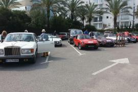 Comienza el Rally Turístico Incio-Ibiza de vehículos clásicos