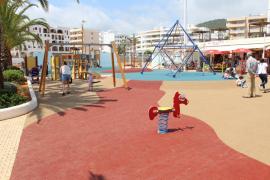 Santa Eulària destina 60.000 euros a mejorar parques infantiles del municipio