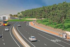 Las obras de desdoblamiento en la carretera de Santa Eulària mantendrán dos carriles abiertos