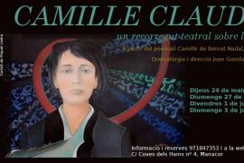 La Sala la Fornal acoge un recorrido teatral por la vida de la artista Camille Claudel