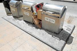 Sant Antoni sustituye o sanea todos los contenedores soterrados del municipio