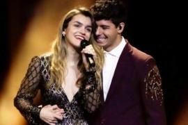 Amaia y Alfred interpretan 'Tu canción' en Lisboa