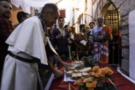 Cena medieval de los artesanos Traspas y Torijano
