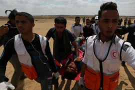 Aumentan a 41 los palestinos muertos en las protestas en Gaza por el traslado de la Embajada de EEUU