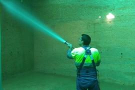 Aqualia finaliza la limpieza de los tres depósitos de agua de Formentera