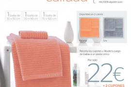 Consigue con Periódico de Ibiza y Formentera dos juegos de toallas firmadas por Devota & Lomba