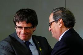"""Torra y Puigdemont piden a Rajoy que fije """"día y hora"""" para iniciar """"un diálogo sin condiciones"""""""
