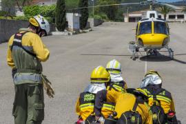 El Govern refuerza el sistema de protección contra incendios este verano en Ibiza