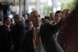 Luis Rubiales, elegido nuevo presidente de la RFEF