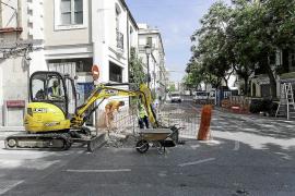 Los empresarios critican que las obras del sistema de acceso a Dalt Vila «llegan en mal momento»