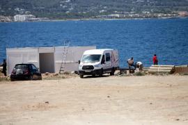 Paralizado el chiringuito nuevo de Cala Gració por «irregularidades»