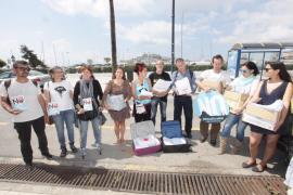 Mar Blava presenta las alegaciones recogidas contra el proyecto Medsalt-2