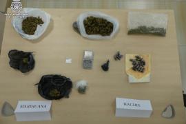 La Policía Nacional detiene al responsable de un punto de venta de drogas a menores en Ibiza