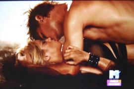 El beso de Shakira y Nadal