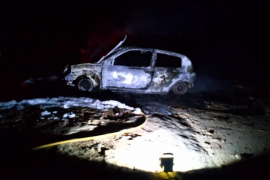 Los bomberos de Formentera extinguen un incendio en Can Marroig
