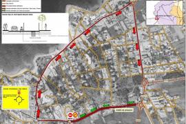 Las obras para sustituir un tramo del colector de residuales de Cala de Bou durarán un mes