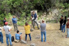 Primera excavación arqueológica del proyecto 'Es Molinot' de Sant Josep