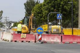 La patronal hotelera de Sant Antoni pide la paralización de las obras del colector de Cala de Bou