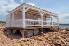 El chiringuito de Cala Gració no abrirá hasta la semana que viene