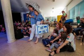 El Festival Barruguet llena Santa Eulària con cientos de niños
