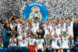 El Real Madrid conquista la decimotercera Champions League