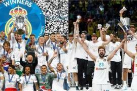 El Real Madrid, primer club en ganar la 'Champions' y la Euroliga en la misma temporada
