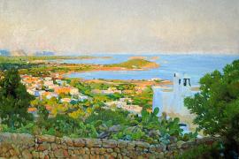 Santa Eulària recuerda hoy al pintor Rigoberto Soler