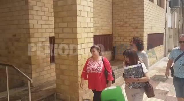 Silvia Tur no declara como aforada y Sónia Cardona defiende su gestión