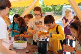 Más de 500 alumnos de Santa Eulària celebran su VI Congrés Infantil con el campo como protagonista
