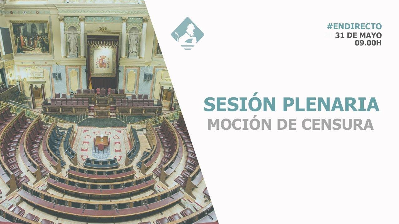 En directo: debate de la moción de censura contra Rajoy