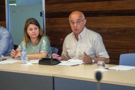 Pleno del Ayuntamiento de Sant Antoni (Fotos: Marcelo Sastre).