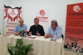 Cáritas afirma que en Ibiza hay una «pobreza asentada»
