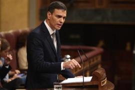 Pedro Sánchez promete gobernar con los Presupuestos del PP si gana la moción