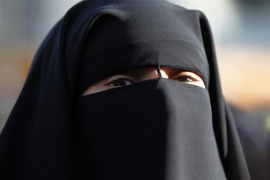 El Parlamento danés prohíbe el uso del burka y el niqab en lugares públicos