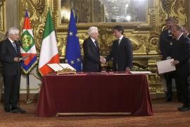 La ultraderecha cierra la crisis política de Italia con la toma de posesión de Giuseppe Conte