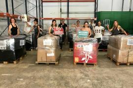 SOS Refugiados Ibiza vuelve a enviar material humanitario a los campos de refugiados griegos