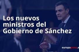 Este es el Gobierno de Pedro Sánchez