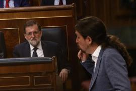 Pablo Iglesias elogia a Rajoy en su adiós: un «político elegante e inteligente que sabía escuchar»