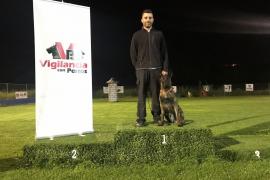 Sant Antoni refuerza la unidad canina de la Policía Local con la incorporación de Winter