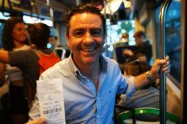 La reducción del precio del bus del aeropuerto de Palma para los pitiusos, pendiente de los convenios