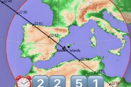 La Estación Espacial Internacional se podrá ver hoy desde Ibiza y Formentera