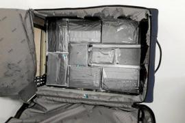 Detenida una mujer que se disponía a trasladar ocho kilos de cocaína desde Brasil a Ibiza
