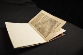 EEUU entrega a España una carta firmada por Cristobal Colón robada de la Biblioteca de Cataluña