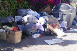 El PP de Sant Antoni denuncia el «caos» del nuevo servicio de recogida de basura