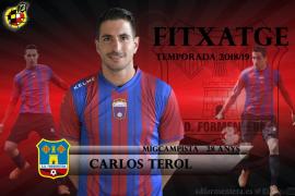 Carlos Terol, nuevo jugador del Formentera