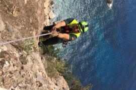 Rescatado el cadáver de la turista alemana desaparecida en Cala d'Hort