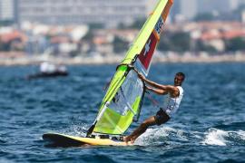 Sanz, tercero en la Medal Race de la Final de las Copas del Mundo