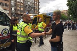 Un joven salva la vida a un conductor que sufrió un infarto en Madrid