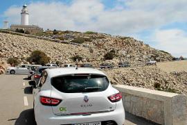 Restricciones en el faro de Formentor